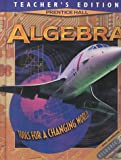 Prentice Hall Algebra : Tools for a Changing World, Phi, 0138386730