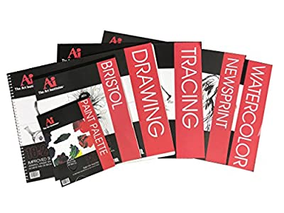 Artist Assorted Paper Pack for Drawing Students Or Beginning Artists