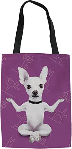 Cotton Bag for life Dog gifts- Small dog Chihuahua tote