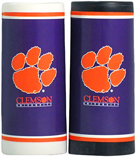 (MyFanClip NCAA Clemson Tigers Salt and Pepper Set,3.75