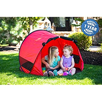 Little Nook Childrenu0027s Pop Up Play Tent for Fun Indoor and Outdoor Play ...  sc 1 st  Amazon.com : pop up play tent for kids - memphite.com