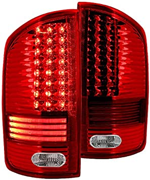 Led Spec-D Tuning LT-RAM02RLED-RS Red Tail Light