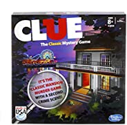 Hasbro Gaming Jogo Gaming Clue Azul Escuro