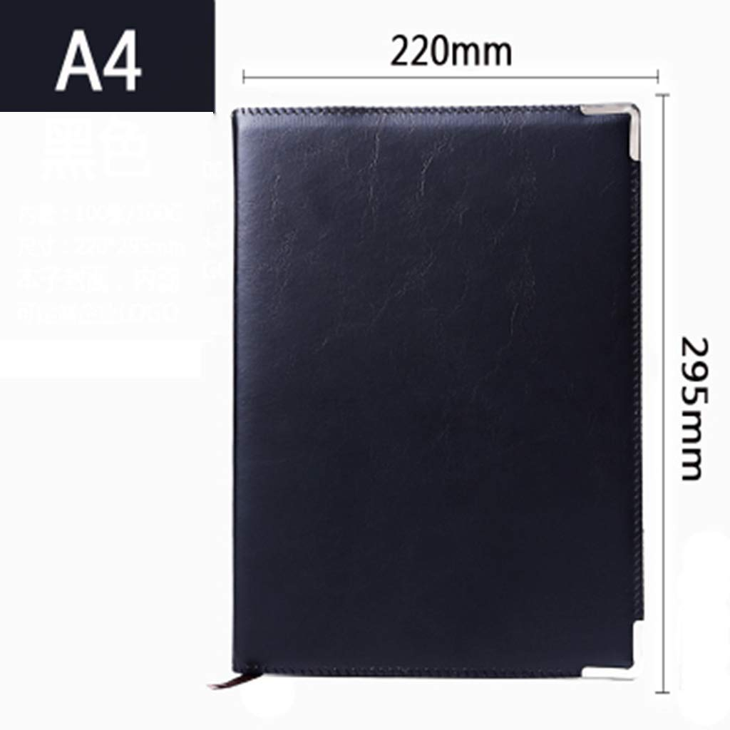 Simple Notebook Business Stationery A4 Agenda de reuniones A5 Office Notebook Big Book Notebook Office A6 Family Diary,f c00d56