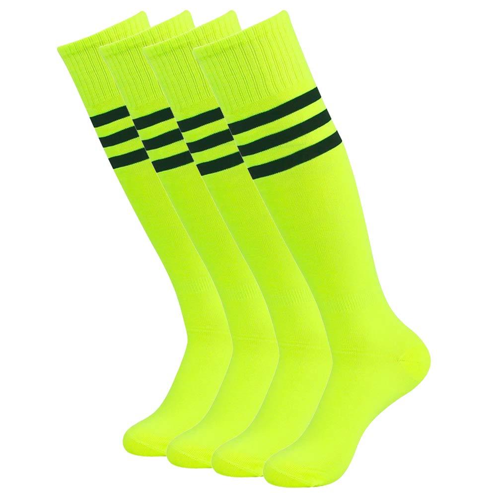 getsporユニセックスFootball Socks Knee HighアスレチックサッカーチューブSock 2 / 4 / 6 / 12ペア B07M8G742M 4 Pairs Neon 4 Pairs Neon, REIKO KAZKI f4881c4f