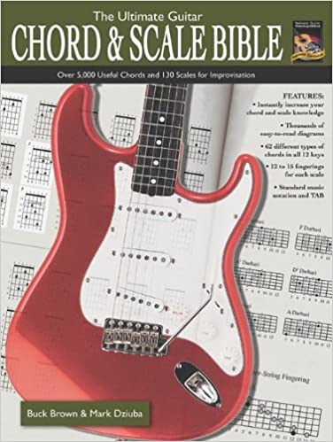 The Ultimate Guitar Chord Scale Bible Over 5 000 Useful Chords