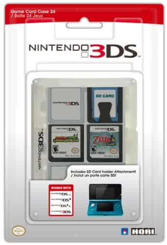 Nintendo 3ds Game Card : Amazon nintendo ds game card case clear video