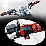 BlueFire レーザー 汎用 オートバイ オン オフ ON/OFF スイッチ 12V DC ハンドルバー ライト ランプ