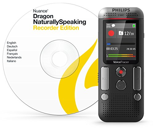 Philips DVT2710/00 Audio Recorder 1.77 Grey (Voice Recorder To Text Software)