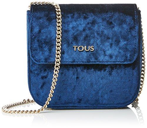 Tous Rene, Bolso Bandolera para Mujer, 6.5x13.5x15.5 cm (W x H x L) Azul (Blue)