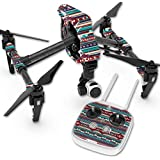 Skin For DJI Inspire 1 Quadcopter Drone – Southwest Stripes | MightySkins Protective, Durable, and Unique Vinyl Decal wrap cover | Easy To Apply, Remove, and Change Styles | Made in the USA