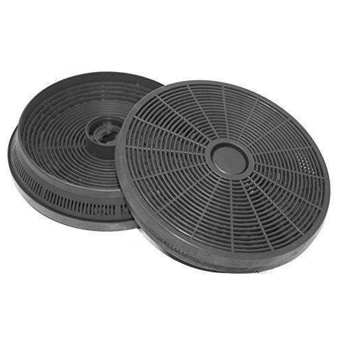 530 Carbon - Spares2go Carbon Charcoal Filter For World 444447258 CHIM90STA Cooker Hood / Extractor Vent Pack Of 2