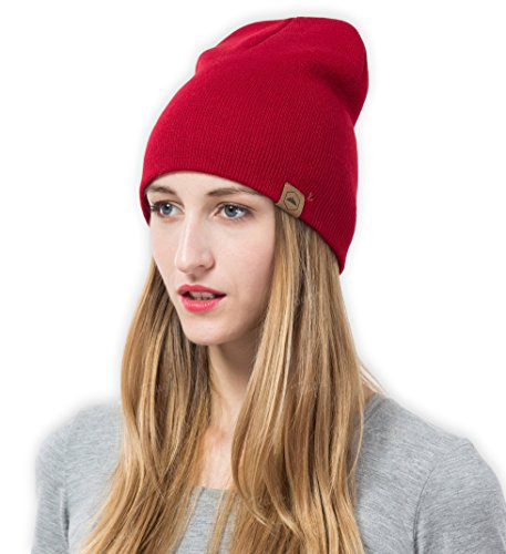 Tough Headwear Daily Knit Beanie - Warm, Stretchy & Soft Beanie Hats for Men & Women - Year Round Comfort - Serious Beanies for Serious ()