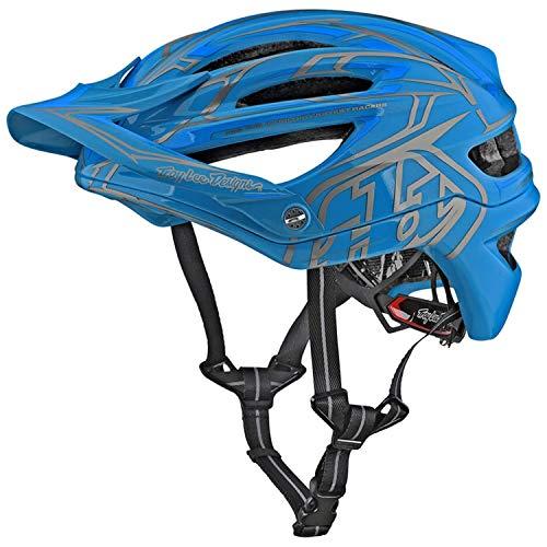 (Troy Lee Designs 2018 A2 MIPS Pinstripe 2 Bicycle Helmet-Ocean-M/L)