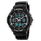 Women's Multifunction Fashion Sport Wrist Watch S Shock Water Resistant Military Digital LED Waterproof