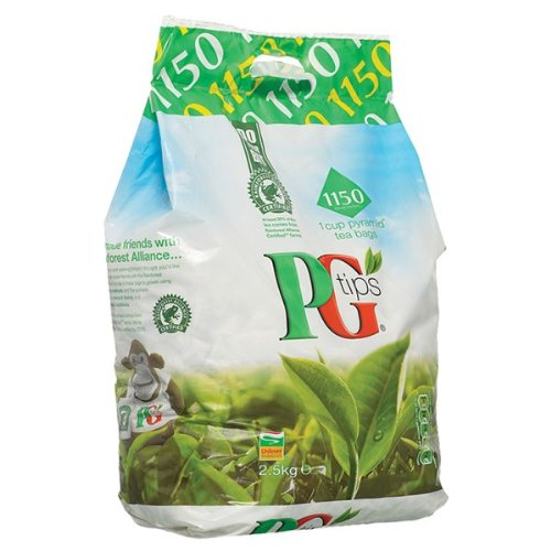 PG Tips 2X1150 1 Cup Pyramid Tea Bags 2.5Kg by PG Tips