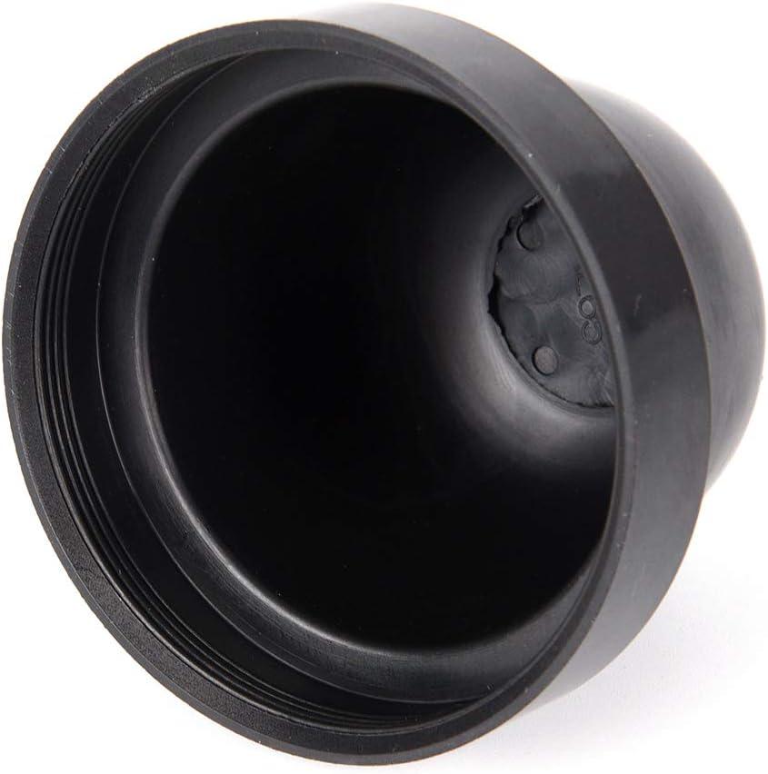 FADACAI Inner Dia Rubber Housing Seal Cap Dust Cover LED Headlight 2Pcs