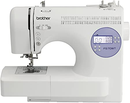 Brother FS70WT - Máquina de coser, color blanco: Amazon.es: Hogar