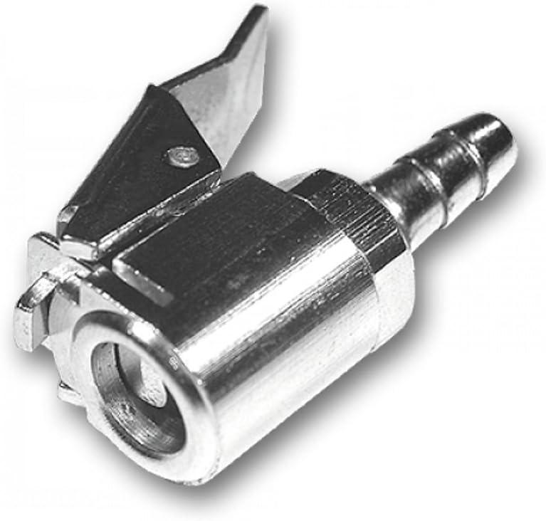 Bradas P Kp8 Ventilstecker Für Reifendruckprüfer 8 Mm Silber 2 X 0 8 X 0 8 Cm Garten