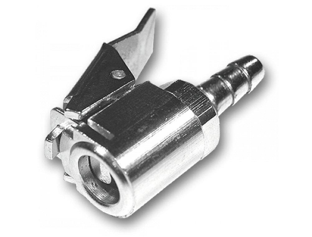 Bradas P//KP8 Ventilstecker f/ür Reifendruckpr/üfer 8 mm 2 x 0,8 x 0,8 cm silber