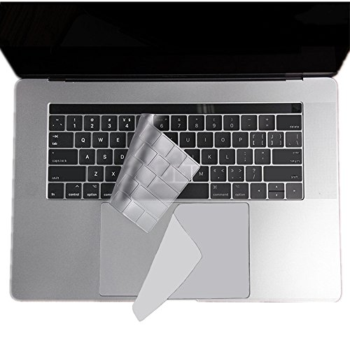 Fantastic Deal! Se7enline MacBook Pro 13 Inch Silicone Keyboard Cover & Ultra-Thin Touch Pad Protect...