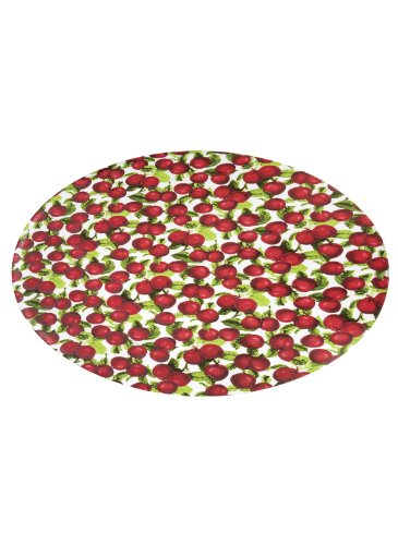 Patterned Fitted Vinyl Tablecloths