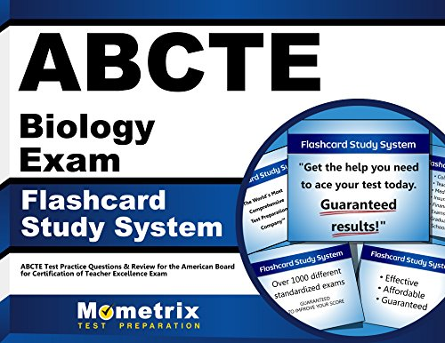 ABCTE Biology Exam Flashcard Study System: ABCTE Test Practice Questions & Review for the American Board for Certification of Teacher Excellence Exam (Cards)