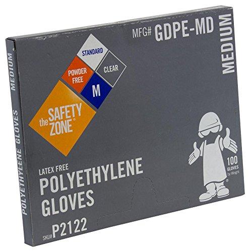 Disposable High Density Polyethylene Powder Free Cleaning