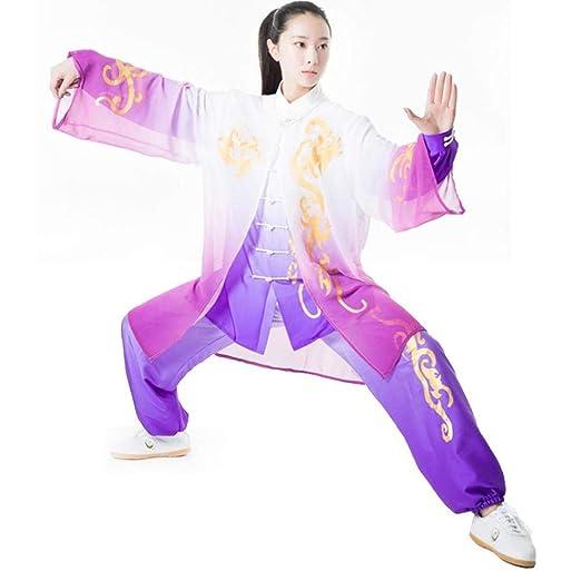 Taichi Uniforme Mujer,Ropa Traje De Tai Chi Unisex Ropa ...
