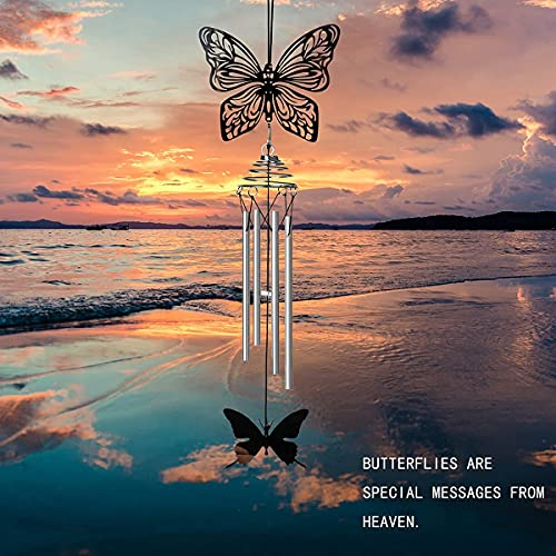 Srikingchimes Sympathy Wind Chimes Memorial Windchimes in Memory of a Loved One Gifts, Personalized Sorry for Your Loss Gifts, Sympathy Gifts for Loss of Mom, Father