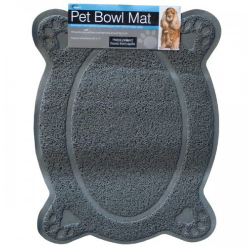 Four Paw Pet Bowl Mat Pack of 6 (Assorted colors)