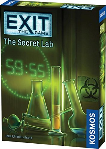 Thames & Kosmos Exit: The Secret Lab Game