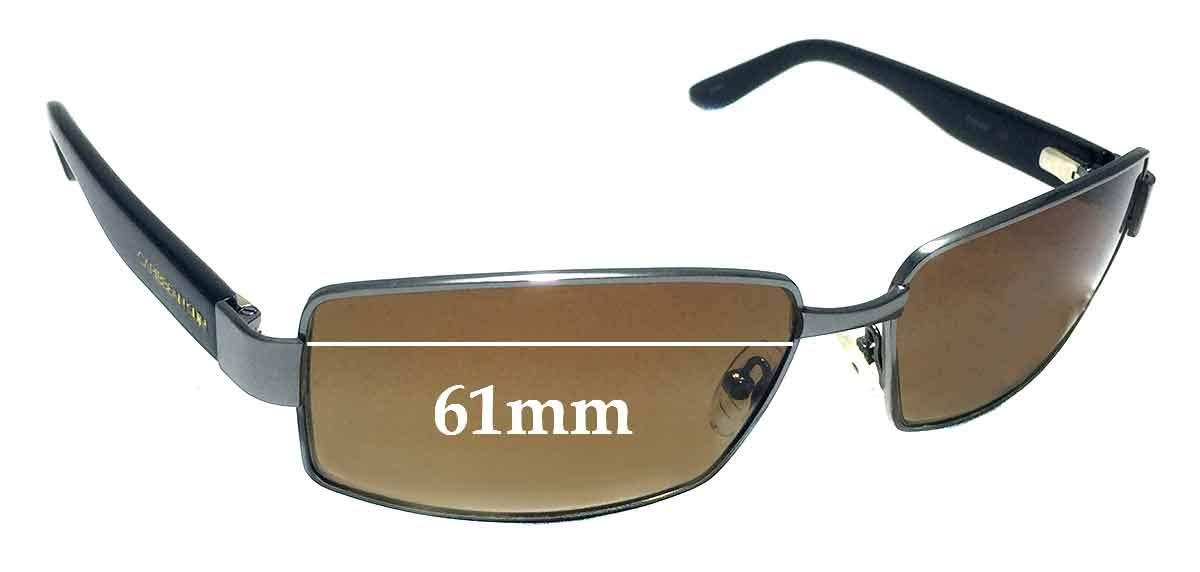SFX Replacement Sunglass Lenses fits Caribbean Sun CS0035M 61mm Wide