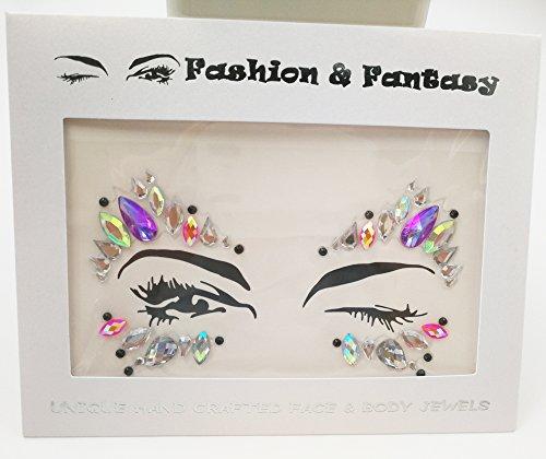 New face jewelry sticker body sticker tattoo Acrylic Crystal glitter Stickers Eye Accessories face gems