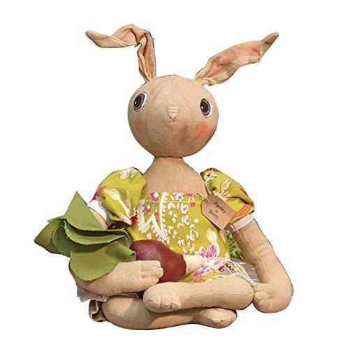 CWI Gifts Parsley & Beets バニー人形 高さ22.5インチ マルチカラー   B07B69FB31