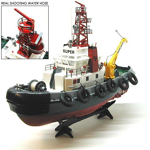 23″ Atlantic Harbor RC Tugboat: Collectible Tugboat