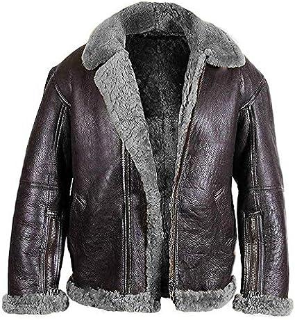 PU PU Vintage Suede Sheepskin Jacket Chaqueta Polo Collar Faux Furle Fleece Forro Sheearling Flowen Winter Warm Abrigo Outwear,Gris,XXL