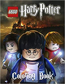 lego harry potter coloring book