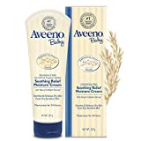 Aveeno Baby Soothing Relief Moisturizing Cream For Dry Sensitive Skin, 8 Oz.