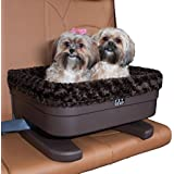 """Pet Gear Bucket Seat Booster for Small Pets, 22"""", Chocolate Swirl"""