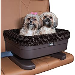 "Pet Gear Bucket Seat Booster for Small Pets, 20"", Chocolate Swirl"