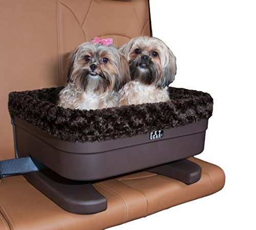 Pet Gear Bucket Booster Car Seat for Dogs/Cats, Removable Washable Comfort Pillow + Liner, Safety Tethers Included, Installs in Seconds, No Tools Required, 2 Sizes Review