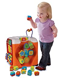 VTech Alphabet Activity Cube BOBEBE Online Baby Store From New York to Miami and Los Angeles