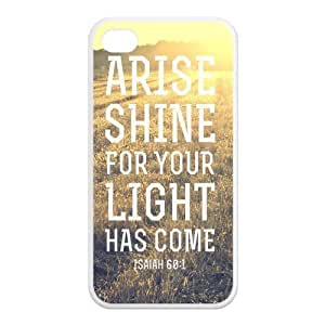 Fashion Bible Verse Personalized iphone 5 5s Rubber Silicone Case Cover
