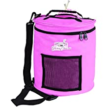 ArtBin Yarn Drum 6806SA Knitting and Crochet Tote, Pink Ribbon