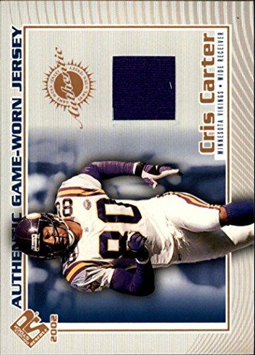 2002 Private Stock Game Worn Jerseys #70 Cris Carter Jersey - NM