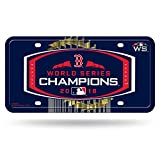 Boston Red Sox World Series Champs 2018 Metal License Plate