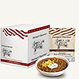 Patriot Pantry Rancher's Black Bean & Rice Soup Case Pack (20 servings, 5 pk.) Bulk Emergency Storage Food Supply, Up to 25-Year Shelf Life