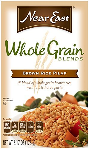 Near East Whole Grain Blends, Brown Rice Pilaf, 6.17oz (Pack of 12 ) by Near East