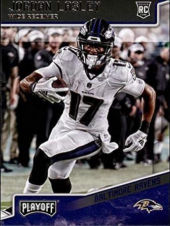 3ca0b5a605659c 2018 Panini Playoff  281 Jordan Lasley Rookie RC Rookie Baltimore Ravens  NFL Football Trading Card